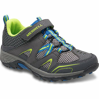 Merrell Boys Trail Chaser Suede Mesh Breathable Active Walking Shoes