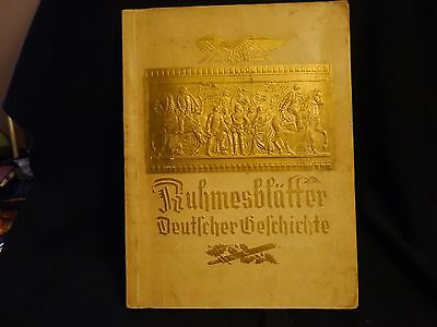 Rare German book filled with cards you collect and put in see photos