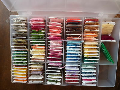 New Deep Deluxe Embroidery Floss Organizer