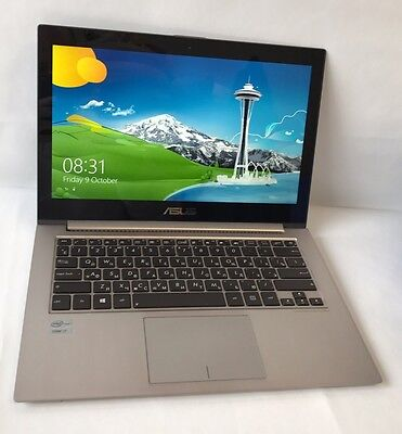 Asus ZenBook UX31a laptop Intel Core i7 - 256gb SSD - Touch Screen Win 8