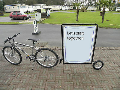 START UP OPPORTUNITY, cycling adverstising, make money while you ride