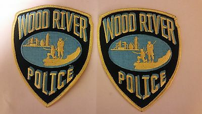 Wood River Police Patch Set