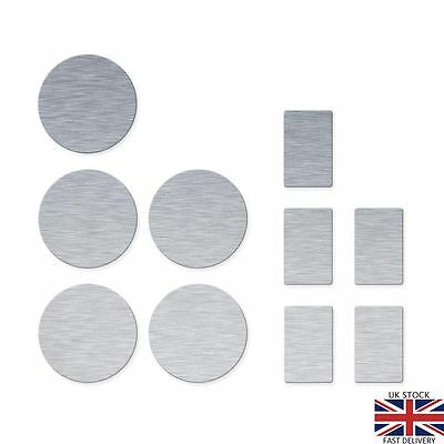 Metal Stickers for Use With Magnetic Makeup Palettes. (10) Z.