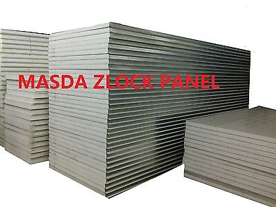 50Mm Z Lock Eps Sandwich Panel Coolroom Panel For Walls And Roofs