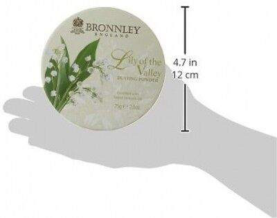 Cosmetic Bronnley Lily Valley Dusting Powder 75g Perfume Talc Wife Gift Mum