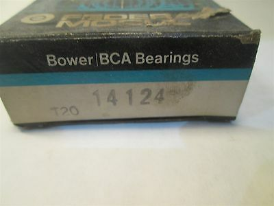 Bower Tapered Roller Bearing Cone 14124
