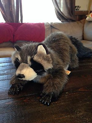 Folkmanis Raccoon Puppet Full Body Retired
