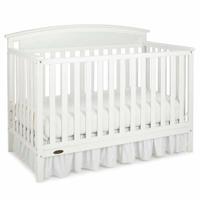 Graco Benton 5-in-1 Convertible Crib in White