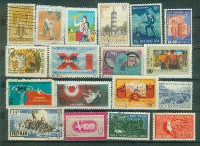 Lot Briefmarken aus Vietnam