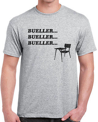 522 Bueller mens t-shirt funny 80s movie ferris save chicago vintage retro cool
