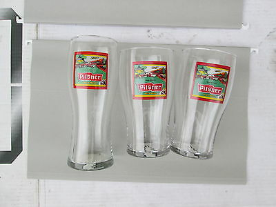 OLD STYLE PILSNER ONE ONLY Glass  Beer Rabbit PIL libbey