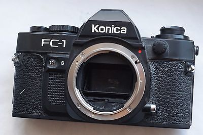 KONICA FC-1  35mm SLR Film Camera Body Only