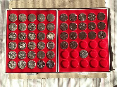 Set Of 48 UK Crowns 1951 To 2016 All Different