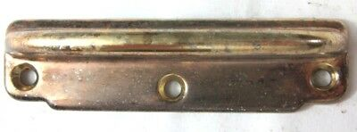 "1 tarnished aged brass plated steel window sash lift pull handle 4-1/8"" Amerock"