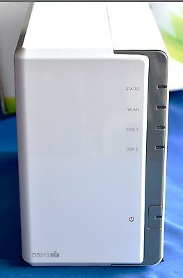 Synology DS213air DiskStation, 2 bay, WiFi, white, excellent condition