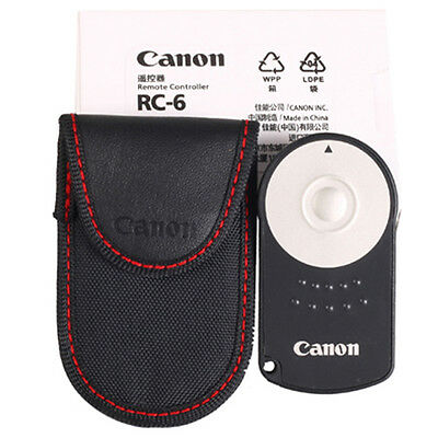 RC-6 CANON WIRELESS REMOTE CONTROL for EOS M 5D Mark II/III 6D 7D 400D HQ
