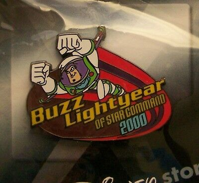 Disney Pin 100 Years of Dreams Buzz Lightyear Star Command