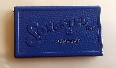 PG316 - Gramophone needles SONGSTER SUPREME BLUE 2 BOX con puntine da grammofono