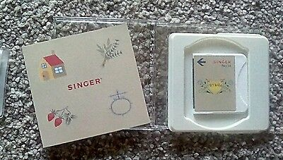 Singer embroidery memory card no 14