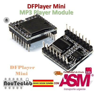 DFPlayer Mini MP3 Player Module MP3 Voice Module Supporting TF Card and USB Disk