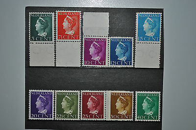 Pays-Bas 1940 Wilhelmine MNH Complet