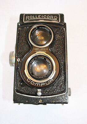 Rolleicord II Type 3 TLR ( Parts or Repair)