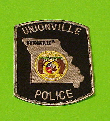 Unionville Missouri  Mo   Police Patch   Free Shipping!!!