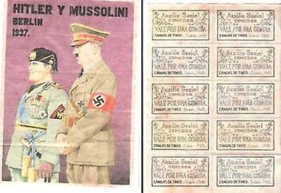 WW2 ERA CURRENCY COLLECTION 5 ORIG COUPON BONDS w ENEMY LEADERS cv $900 SEE ALL!