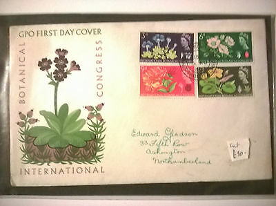 GPO International Botanical Congress 1964 First Day Cover VGC.
