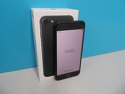 "Apple iPhone 7 (A1778) 128GB iOS Unlocked Black 4.7"" Smartphone (101378)"