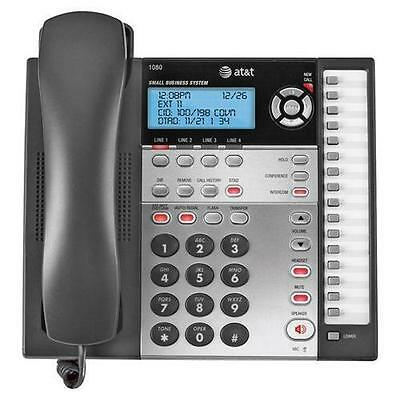 AT&T 1080 4-Line Expandable Corded Small Business Telephone w/ Digital Answering