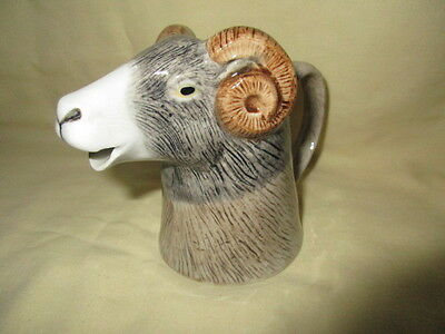 Fabulous  Swaledale Sheep Cream Jug By Quail Pottery  Boxed Ideal Gift