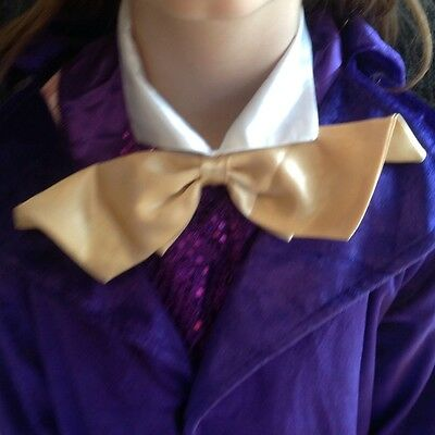 Willy Wonka Fancy Dress Costume Aged 7-9 Ideal World Book Day Outfit
