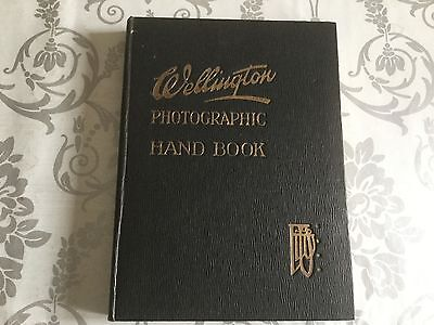 Wellington Photographic Handbook 1922