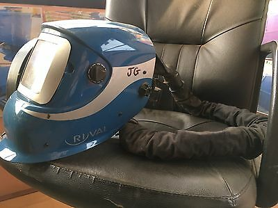 Ryval Air Pac with Helmet - Welding Mask