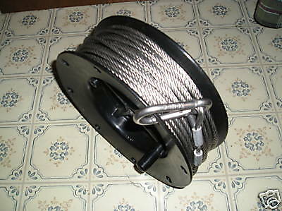 "Stainless Steel Wire Rope  3/16 "" (120 ft.spool)"
