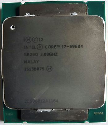 OEM Intel Core i7 5960X Extreme Unlocked, S 2011-3, Haswell-E, 8 Core, 3.0GHz