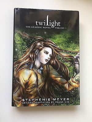 Twilight Graphic Novels Volume 1 And 2 By Stephenie Meyer And Young Kim
