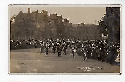MILITARY SUNDAY IN YORK: Yorkshire postcard (JH1781)