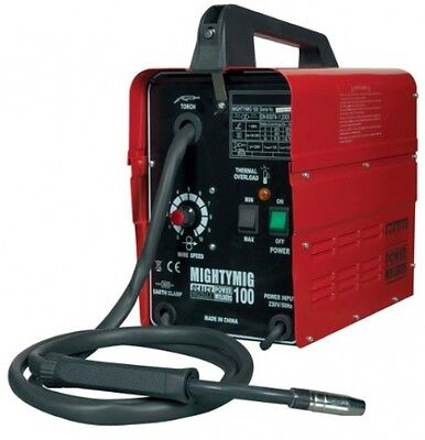 Sealey Professional 230V 100A No-Gas Mig Welder