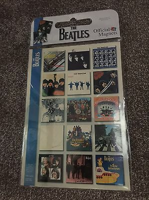 The Beatles Album Covers Official Magnets Rare New