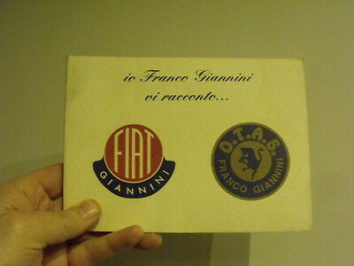 Fiat 500 Giannini history & story book -vintage car microcar