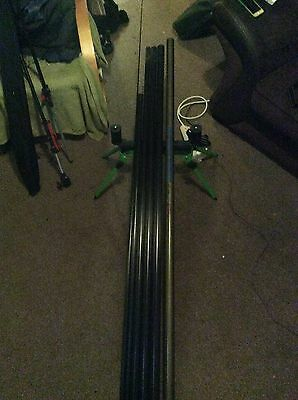 2X Fishing Poles 10M Steadfast Shakespear 11M
