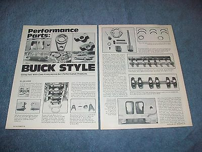1986 KENNE BELL Performance Buick Parts Vintage Info Article
