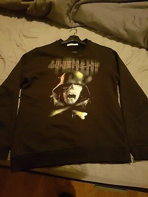 Givenchy Skull Print Sweater Size L