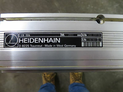 Heidenhain 2000MM Linear Scale Tape Housing LB326 232 729 06