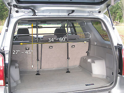 Pet Partition Barrier SUV Wagon Fully Adjustable USED Dog Puppy divider vehicle