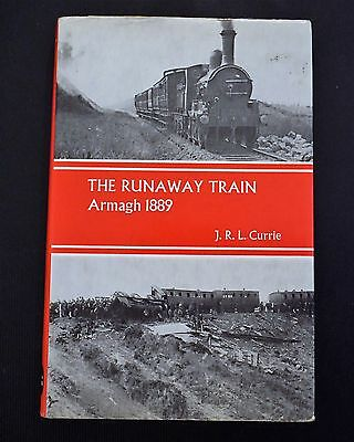 The Runaway Train Armagh 1889 by J.R.L Currie