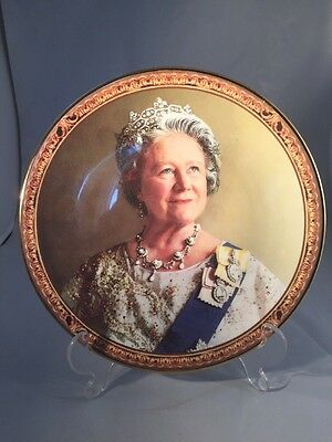 our gracious majesty queen mother plate ltd edition with certificate Royal