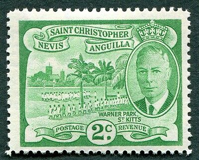 ST. CHRISTOPHER NEVIS AND ANGUILLA 1952 2c SG95 mint MH FG Warner Park #W14